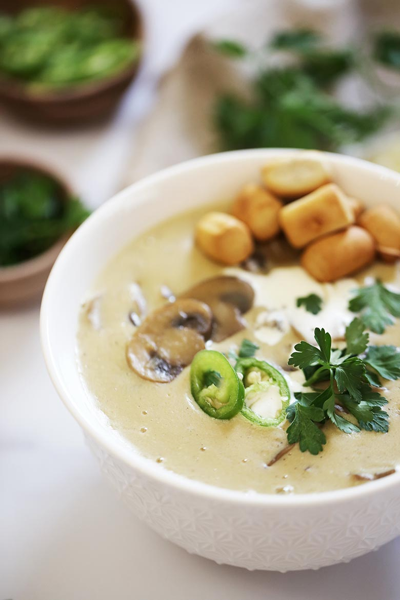 Simple And Easy Mushroom Soup Recipe